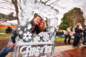 Georgia Mountain Parkway - The First & Ice Chili Cook-off Festival is held every February in Downtown Blue Ridge, Georgia