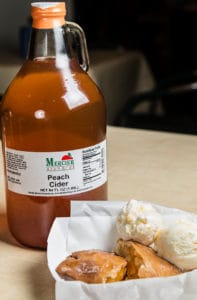 Peach Cider and Fried Pies at Mercier Orchards