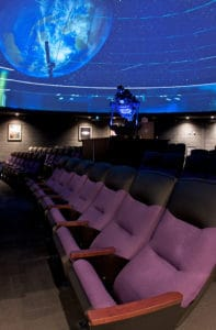 Georgia Mountain Parkway - The Rollins Planetarium at Young Harris College in Young Harris, Georgia, welcomes the public to a variety of shows