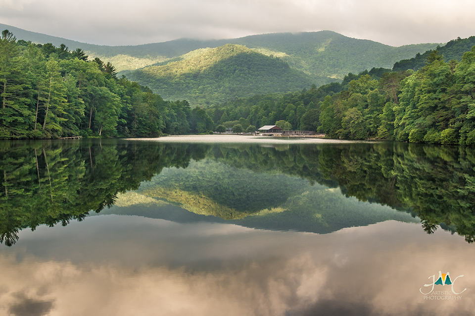 Georgia Mountain Parkway - Vogel State Park makes for scenic photos like this one from JMC Artistic Photography
